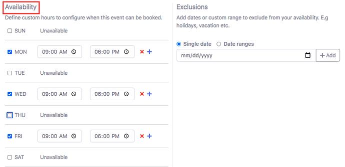 appointment scheduler calendar