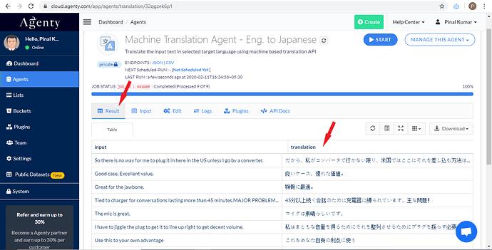 English To Japanese Machine Translation