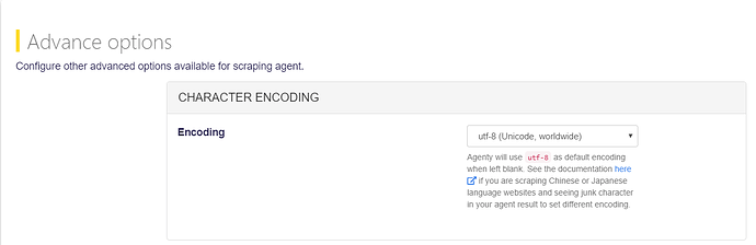 utf-8 website scraping
