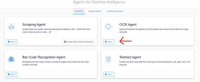 Create OCR agent