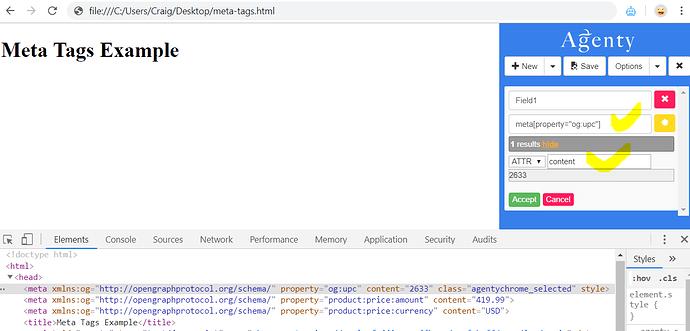 hidden tags scraping from website