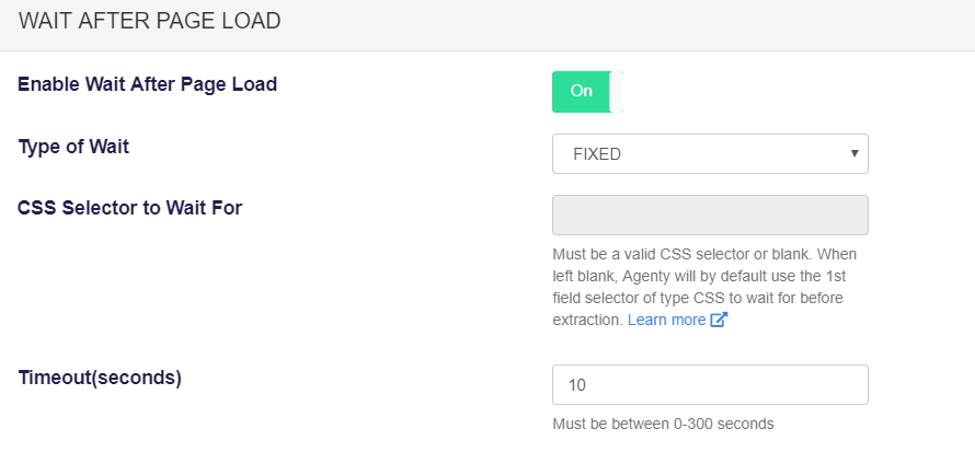 wait for dynamic content render before scraping